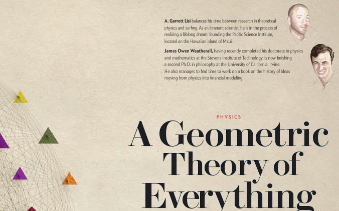 A geometric theory of everything