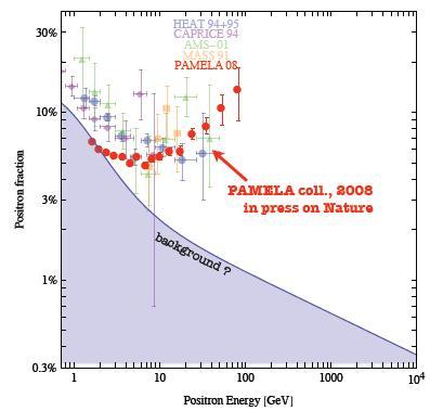PAMELA data 2008