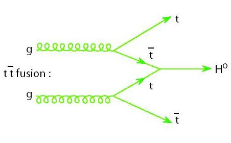 feynman diagram for tth production